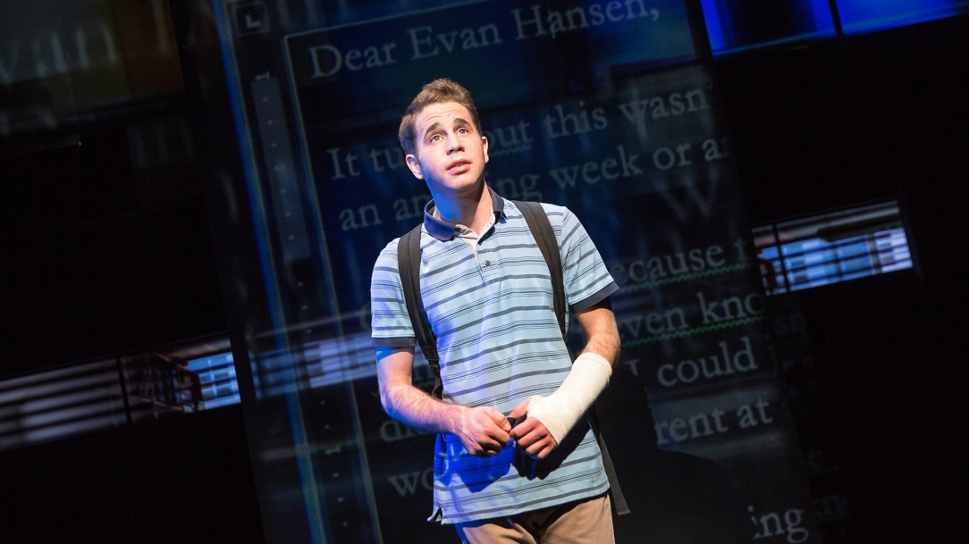 Ben Platt, Dear Evan Hansen, Pasek and Paul, New Musical